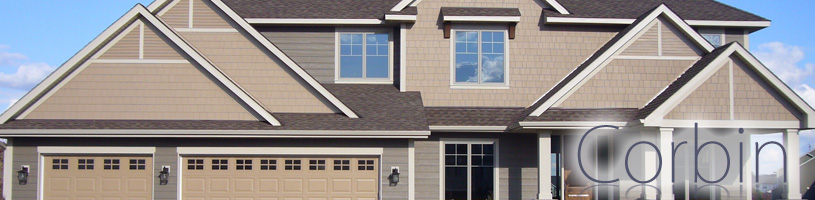 Replace you home's or business's siding, windows, doors and roof with Corbin Exteriors