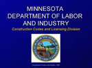 Minnesota Department of Labor and Industry